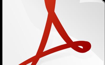 Rellenar y firmar un PDF con Adobe Reader