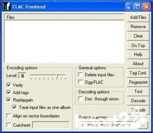 FLAC - Códec de audio sin pérdidas gratuito